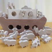 Ark van Noach zijkant aanzicht